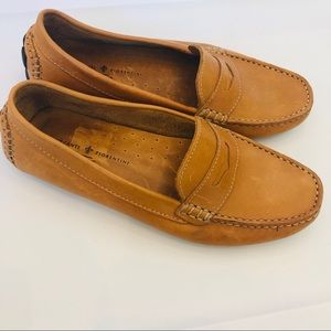 Mercanti Fiorentini leather loafers brown shoes